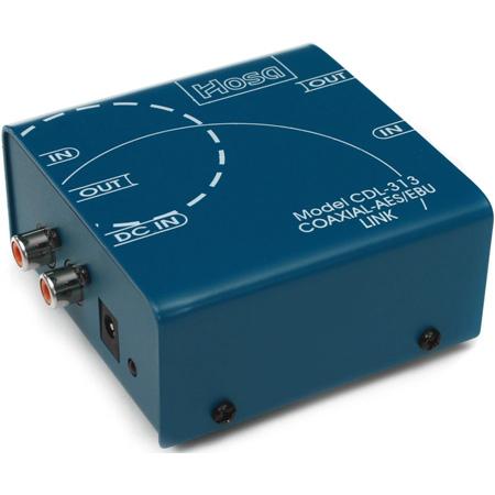 Hosa - Coaxial (RCA) to AES/EBU (XLR Connectors)The CDL-313 24 Bit 96K