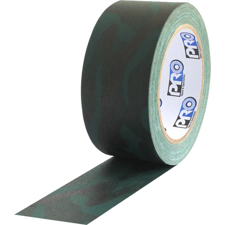 Pro Tapes 001CAMOG220MGRN Pro Gaff Gaffers Tape CFGT-20 2 Inch x 20 Yards - Camouflage