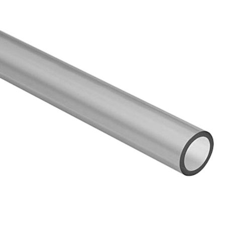 Extruded PVC Tubing 8 Awg 100 Foot Roll Clear