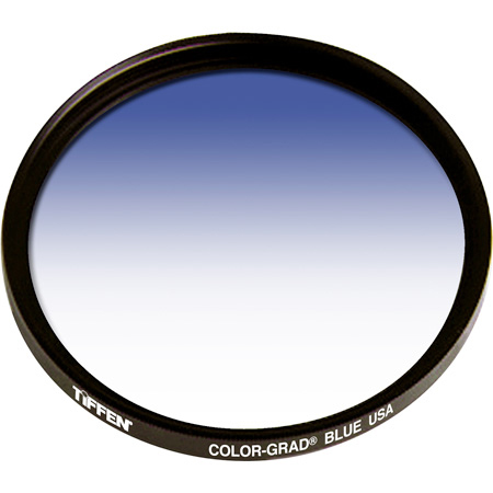 Tiffen 62mm Color-Grad Blue