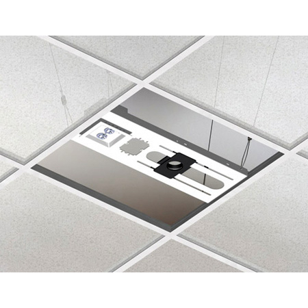 Chief CMA443 Above Tile Suspended Ceiling Kit & 3 Inch Fixed Pipe