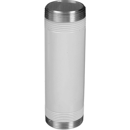 Chief CMS006 6 in. Speed-Connect Fixed Extension Column - White