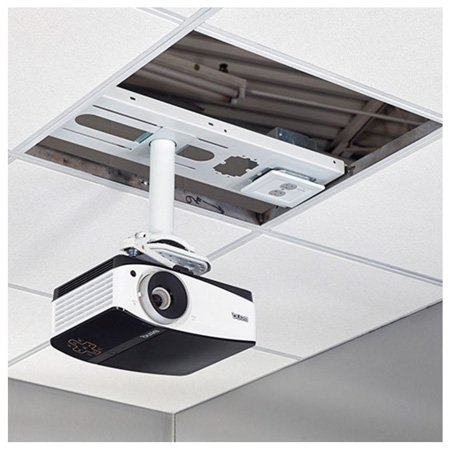 Chief CMS440P2 Speed-Connect Above-Tile Suspended Ceiling Kit with 2-Gang Filter & Surge