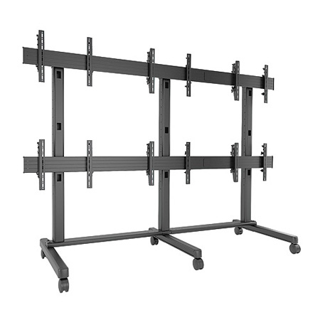 Chief LVM3X2U Fusion 3X2 Video Wall Cart/Stand
