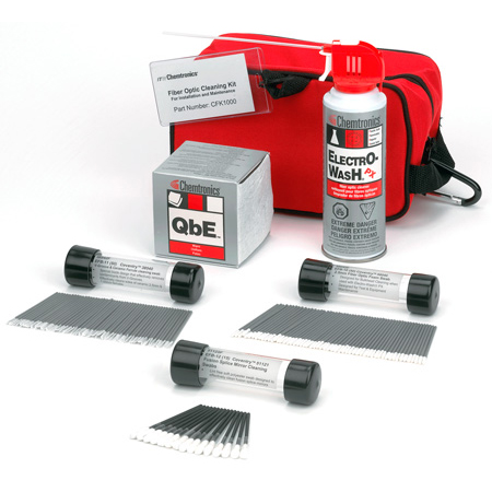 Chemtronics CFK1000 Fiber Optics Cleaning Kit