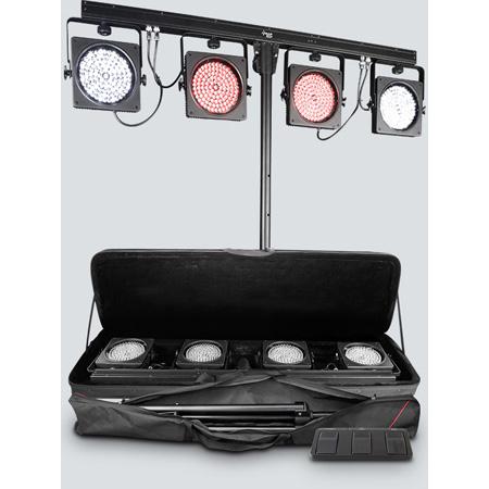 Chauvet DJ 4BARUSB 4 Bar USB Wash Lighting Solution - Designed for Mobile Entertainers