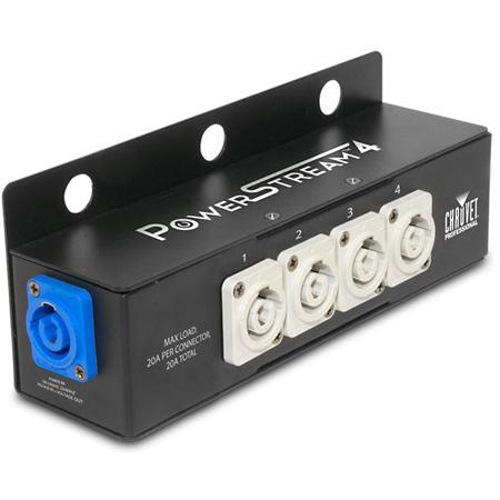 Chauvet PowerStream 4 powerCON Splitter