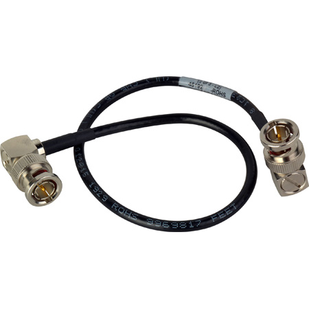 Laird CION-VFBNC-14IN Premium Single-Channel 6G-2K HD-SDI Viewfinder Cable with Right Angle BNCs for AJA CION Camera - 1