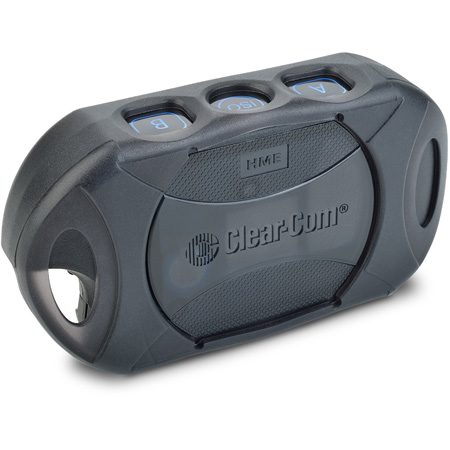 Clear-Com BP410 2-Channel 2.4GHz Wireless Intercom Belt Pack for DX410 Intercom Base Station