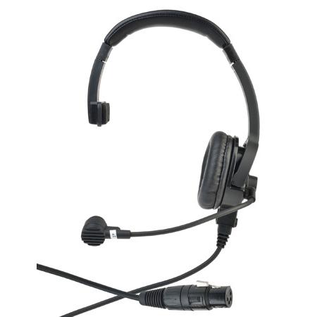 Clear-Com CC-110-X4 Lightweight Single On Ear Intercom Headset with Dynamic Mic and Four-pin Female XLR connector