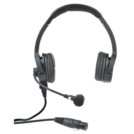 Clear-Com CC-220-X4 Premium Lightweight Double On Ear Intercom Headset - Field Removable Four-pin Female XLR