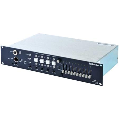 Clear-Com SB-704 Encore Partyline Intercom 4-Channel Switchboard Main Station