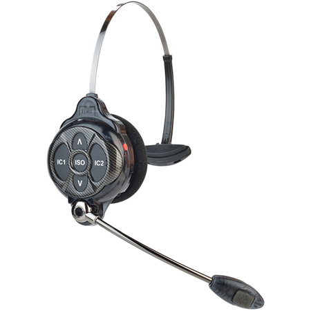 Clear-Com WH220 Single Sided Intercom Headset with Li-Ion battery