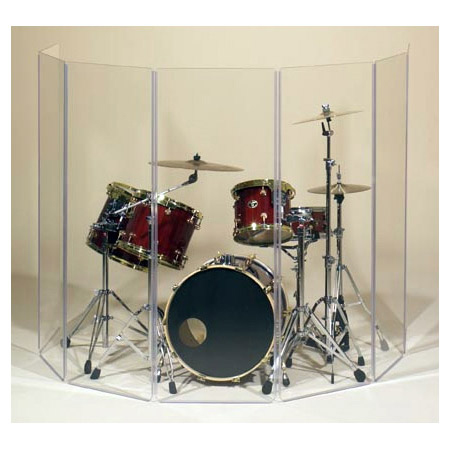 Clearsonic A5-7 Seven Section Drum Shield