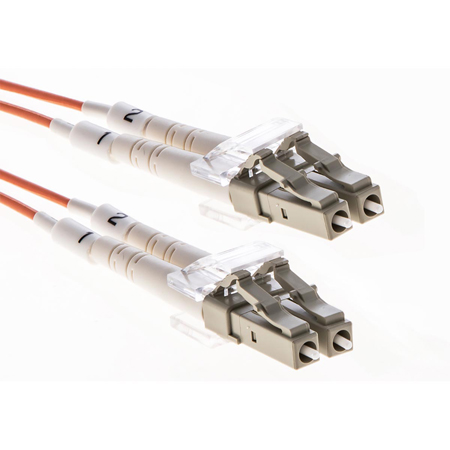 Cleerline DOM2LCLC02M LC/UPC-LC/UPC-1.6mm Riser-OM2-2m Fiber Cable