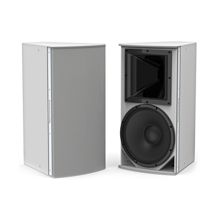 Community IP6-1152/66B Medium Power 15-inch Two-Way Installation Loudspeaker - 60x60 - Black