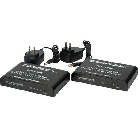 Camplex CMX-HDMIF HDMI to Fiber Optic Converter / Extender