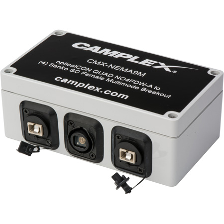 Camplex OM3 Multimode NO4FDW-A opticalCON QUAD to Four (4) SC Female Breakout