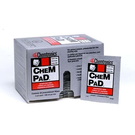 Chem Pad Presaturated Wipe 50 Pack