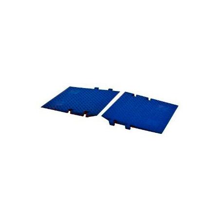 Cross Guard ADA Ramp Attachments for LineBacker CP1X225-GP Blue