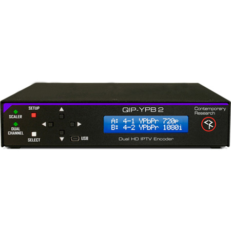 Contemporary Research QIP-YPB-2 IPTV Encoder