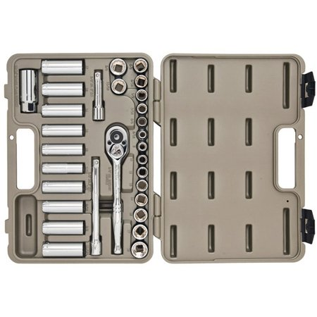 Crescent CTK30SET 30 Piece Socket and Tool Set with Hard Case and Wrap