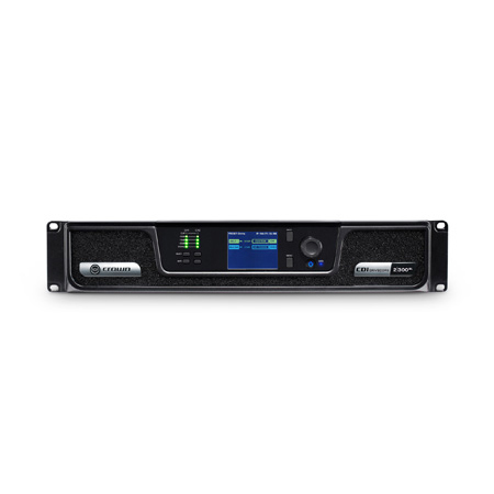Crown CDI DriveCore 2300BL 2x300W Power Amplifier with BLU link