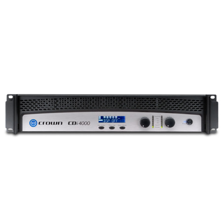 Crown CDI 4000 2-channel - 1200W/4 Ohms - 70V/140V Power Amplifier