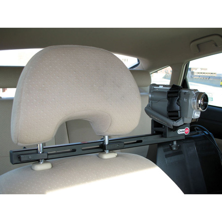 CruiseCam In-Car Single Seat Headrest Camera Mount