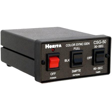 Horita CSG-50 Color Bar Sync Generator - Bars/Black/Sync/Audio Tone Generator