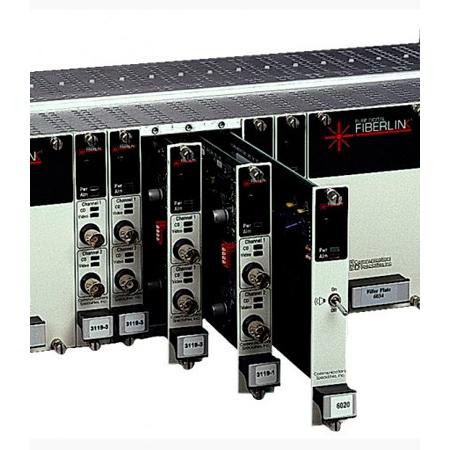 Artel FiberLink 3371-C7S 3G/HD/SD-SDI Ethernet & 2 Channels RS-Type Data over Fiber Card - Singlemode - ST - Receiver