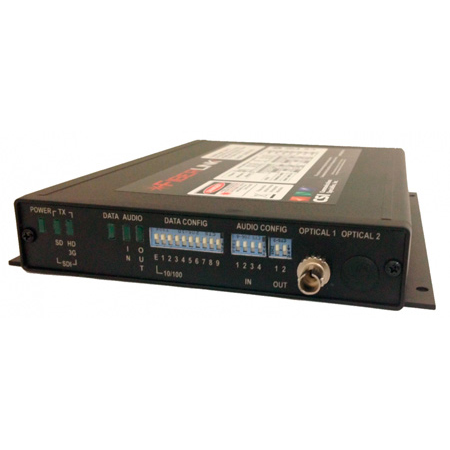 Artel FiberLink 3391-C7S One-Way 3G/HD/SD-SDI with Two-Way Audio/Data/Ethernet over 1 Fiber Card - SM/ST/Rx