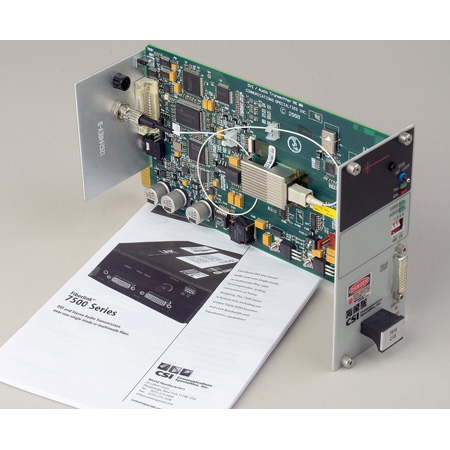 Artel FiberLink 7514-C1S 850nm Multimode DVI & 3.5mm Stereo Audio CWDM Fiber Card with ST Connectors - Transmitter