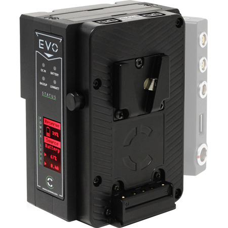 Core SWX EVO-V V-Mount to V-Mount Li-Ion Battery with 2 P-Tap Outputs - 49wh