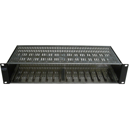 Cabletronix Micro Modulator Series Rack Chassis Holds 12 Units & The CTPS-12