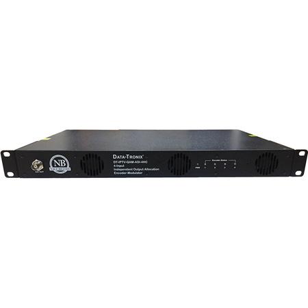 Cabletronix DT-IPTV-QAM-ASI-4HC 4-Input Encoder-Modulator with ASI and IP Outputs