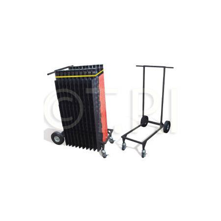 Checkers Industrial CT4W-ST Ramp-Runner 4 Wheel Standard Transport Cart