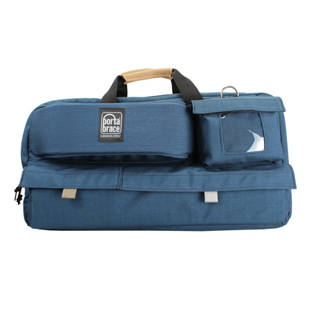 Porta Brace CTC-3 Traveler Camera Case BLUE