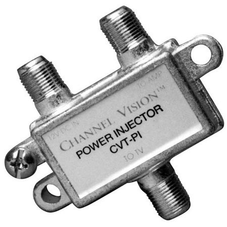 Channel Vision CVT-PI Power Injector for CVT-15WB 15dB RF Amplifier