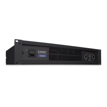 QSC CX302 2 Channel Powered Amplifier 200 Watt at 8 Ohms