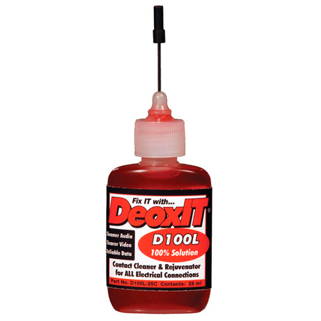 CAIG Products DeoxIT® D100L-25C D-Series Needle Dispenser/ 100% Solution/ 25 ml