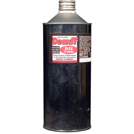 Caig Products DeoxIT® D5L-32A Liquid Aluminum Container 5 Percent 944ml