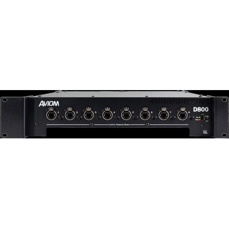 Aviom D800 A-Net distributor with A-Net bridge input