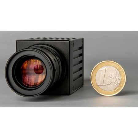 Dream Chip DC-001-00023-12-K Atom One 4K Mini16 Global Shutter Camera with Fixed C-Mount 12mm Lens 2SDI Output Genlock