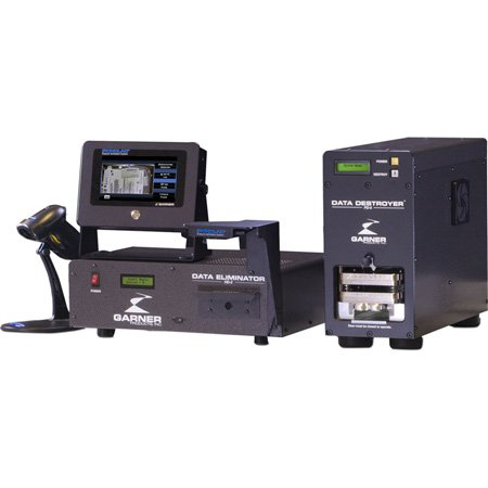 Garner HD-2XT IRONCLAD High-Speed Degausser Package - PD-5 / SSD-1