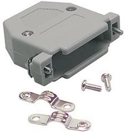 25-Pin D-Sub Connector Hood - Plastic
