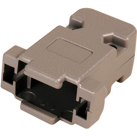 15 Pin HD and 9-Pin D-Sub Connector Hood - Plastic