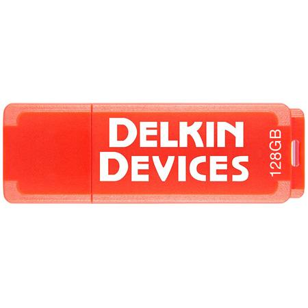 Delkin DDUSB3-128G PocketFlash USB 3.0 Flash Drive - 120/15 Read/Write - 128GB