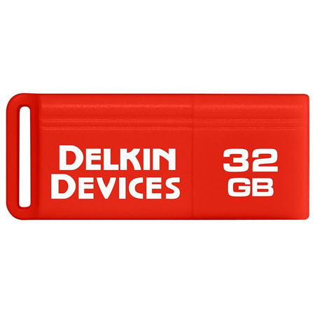 Delkin DDUSB3-32GB PocketFlash USB 3.0 Flash Drive - 120/15 Read/Write - 32GB