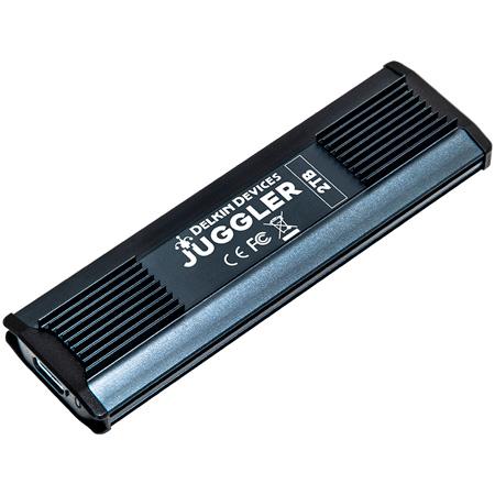 Delkin DJUGBM2TB JUGGLER™ USB 3.2 Type-C SSD - 1050MB/s Read - 1000MB/s Write - 2TB